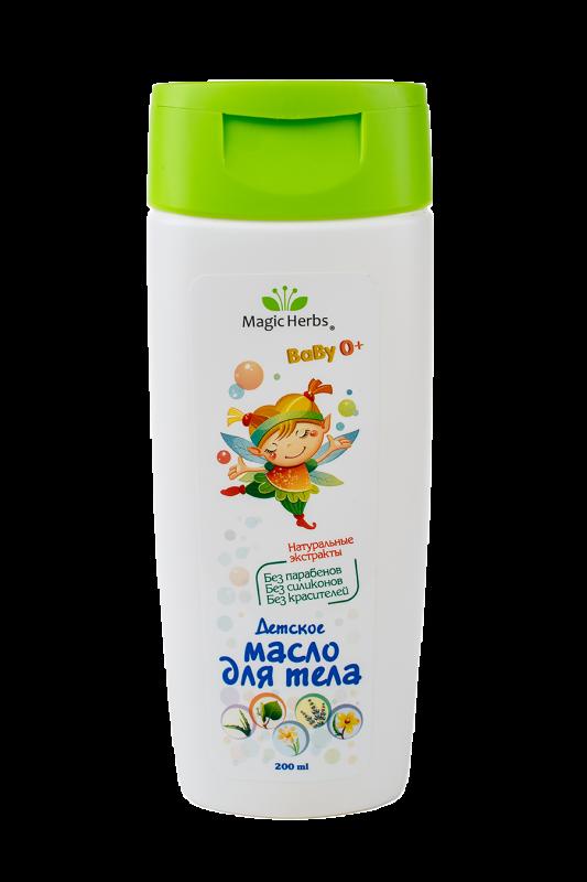 """Детское масло для тела с комплексом экстрактов серии """"Magic Herbs"""""""