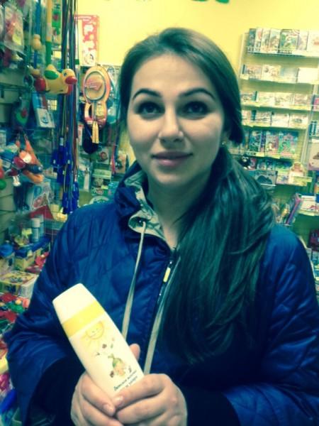 Акция в московских магазинах Алёнушка!